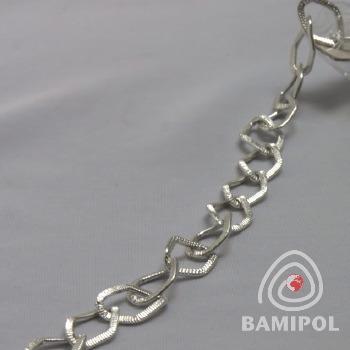 04.13 łańcuszki ozdobne taśmy metalowe