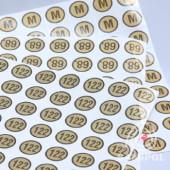 09.01 rozmiarówki etykietki samoprzylepne 170x170