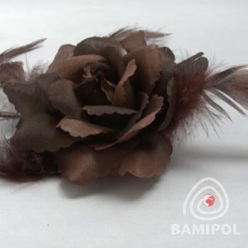 20.04 ozdoba kwiat róża na agrawce