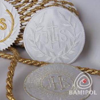 20.05 Komunijne do chrztu ozdoby IHS16