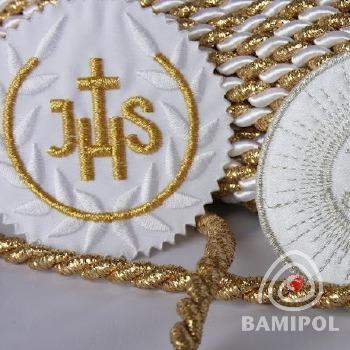 20.05 Komunijne do chrztu ozdoby IHS17